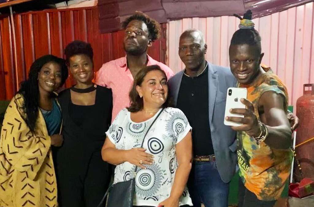 ABDOULAYE KONATÉ A ACCRA (GHANA)