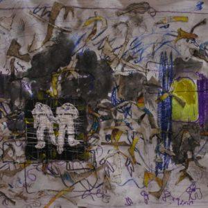 Viyé Diba - Calligraphie de résidu 2
