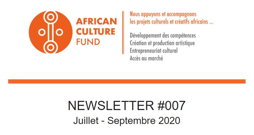 Consultez la Newsletter #7 de l'ACF