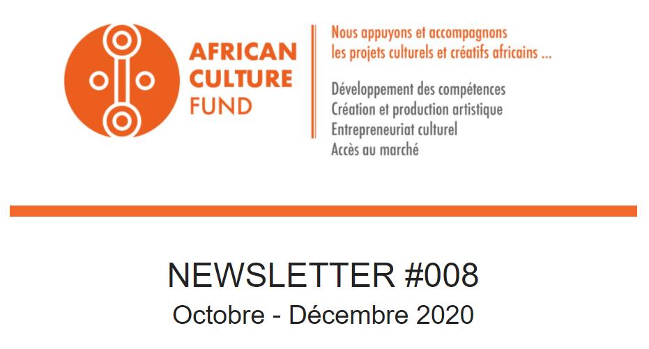 Consultez la Newsletter #8 de l'ACF