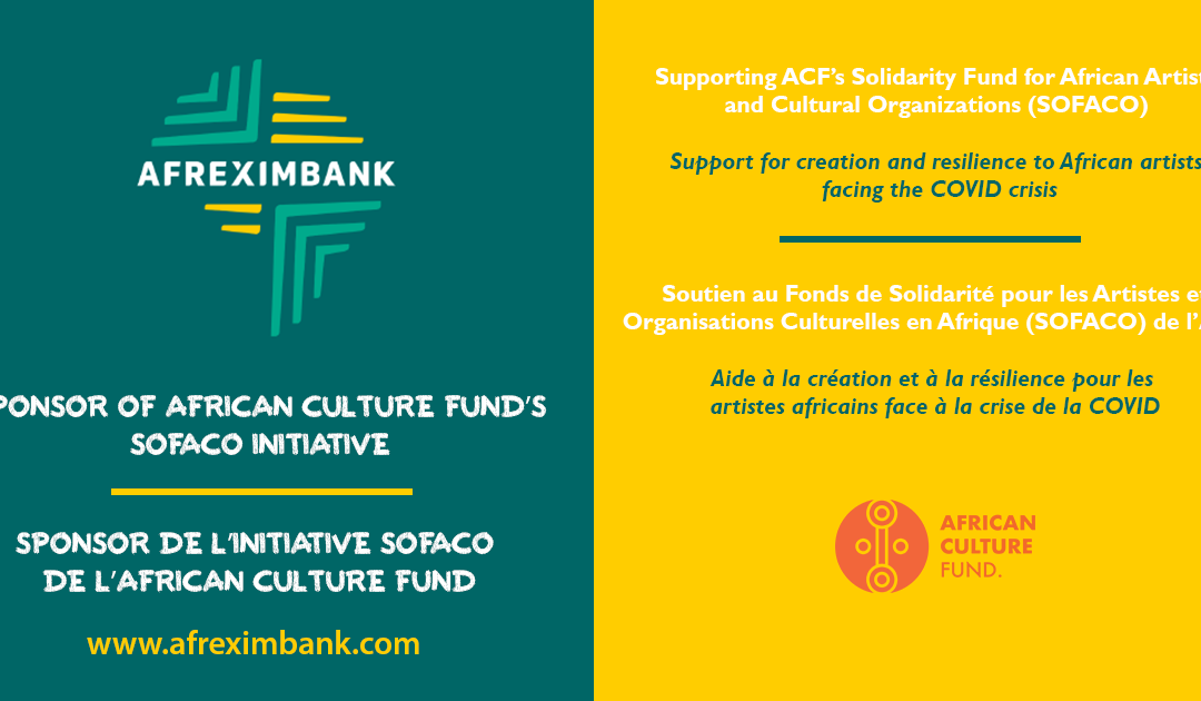 AFREXIMBANK, sponsor of ACF's SOFACO initiative