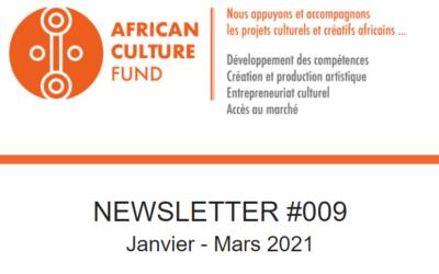 Consultez la Newsletter #9 de l'ACF
