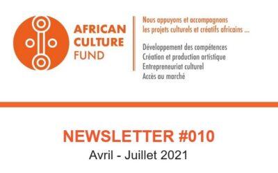 Consultez la Newsletter #10 de l'ACF